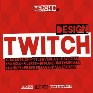 Twitch Designer bei merchio.eu